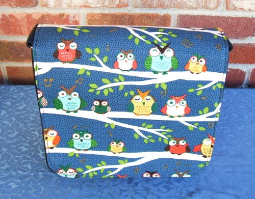 Smart Owl Messenger Bag by Gifts and Beads