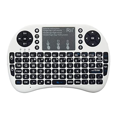 ZFF-YXJP I8 + Bluetooth Mini Teclado inalámbrico, Ratón ...