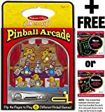 Pinball Arcade: On-the-Go Series + FREE Melissa & Doug Scratch Art Mini-Pad Bundle [53693]