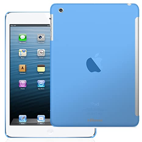 i-Blason Apple iPad Air/iPad 5 Smart Cover Compatible Back Cover SoftGel TPU Back case (Front Smart Cover Not Included, Back Cover Only) (Blue) Bags & Cases at amazon