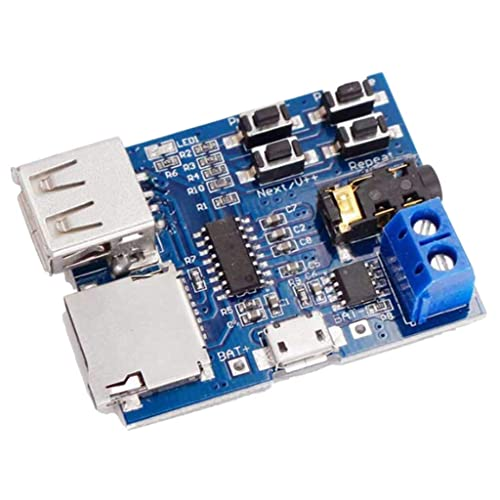 Gazechimp MP3 USB Flash Drive TF Reproductor De Tarjetas ...