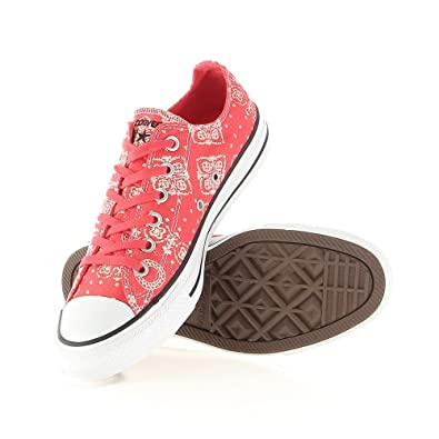 772b76955ece Amazon.com  Converse Chuck Taylor All Stars OX Shoes Bandana Print ...