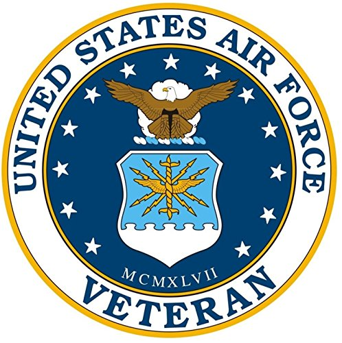 1 Pc Brilliant Unique United States Air Force Veteran MCMXLVII Sticker Sign Vinyl Military Decor Truck Bumper Decals Trucks Window Decal Car Racing Bike Patches Wall Cars Stickers Size 5
