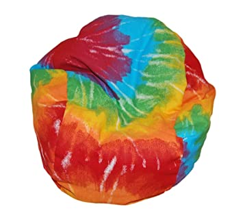 Superior Ahh! Products Tie Dye Rainbow Bean Bag Chair For Dolls