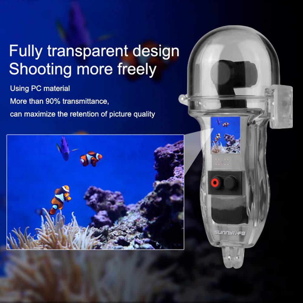 Amazon.com: Funda impermeable para cámara de bolsillo DJI ...
