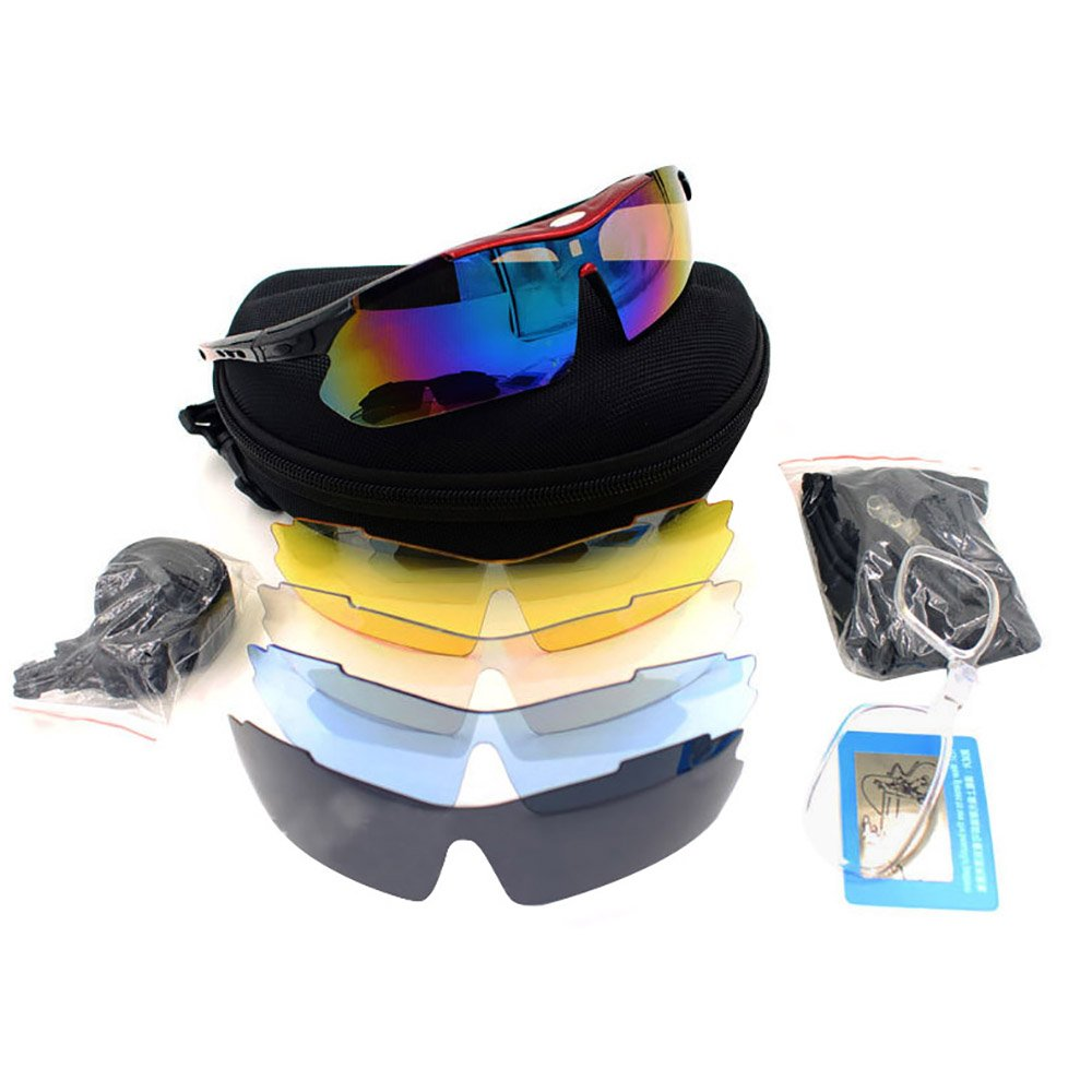 Pevor New Polarized Cycling Sunglasses Sport Glasses Bike Goggles