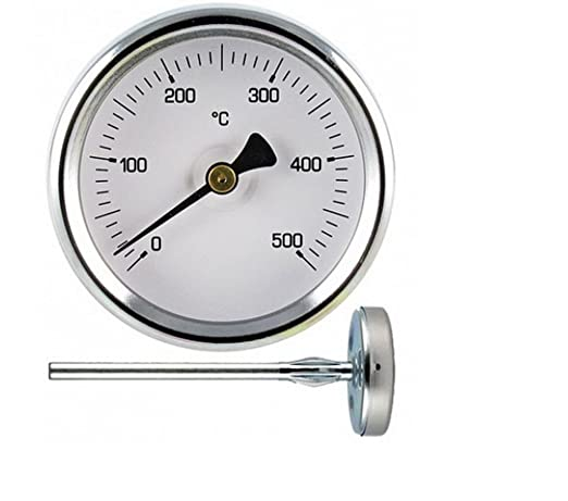 1 termómetro 500 ^ grados de sonda larga - -CM 10 - -per Horno de ...