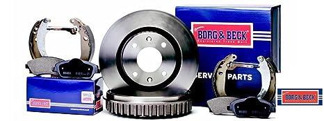 Front Borg /& Beck BBD4246 Brake Disc Pair