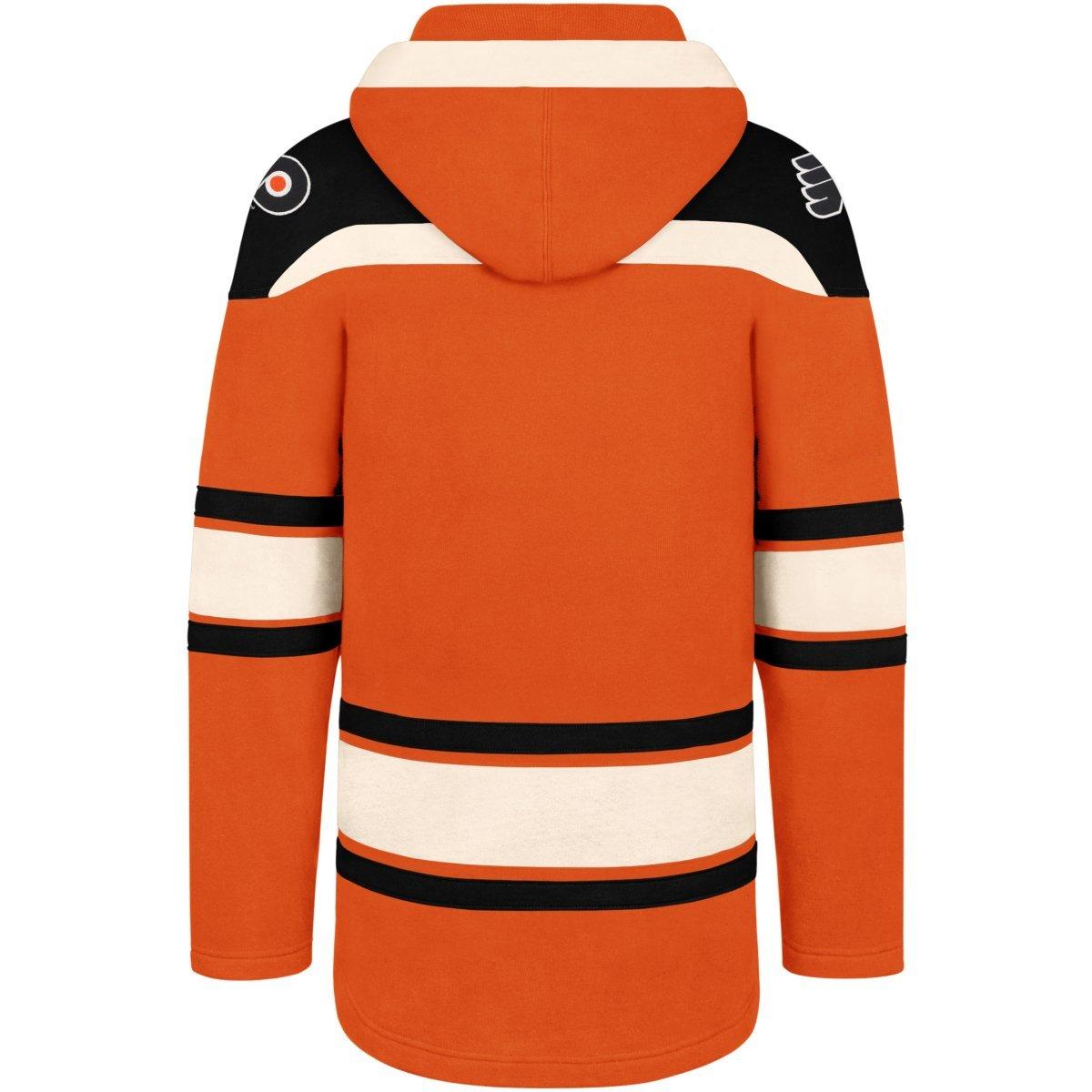 NHL Philadelphia Flyers 47 Brand Lacer Hoodie Kapuzenpullover Sweatshirt Herren Eishockey
