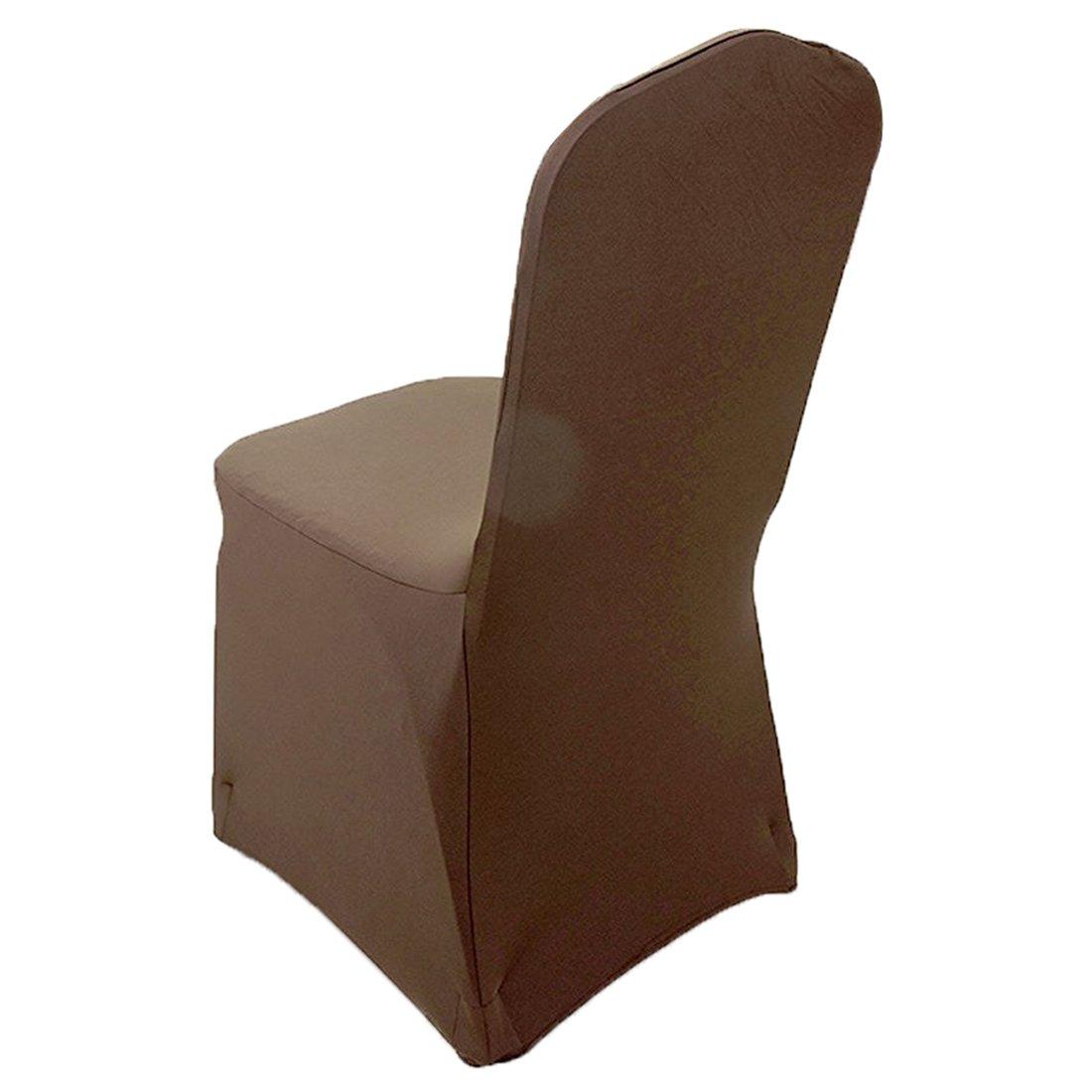 Amazon.com: SODIAL(R) 4 Pieces Elegant Stretch Strap-free Chair ...