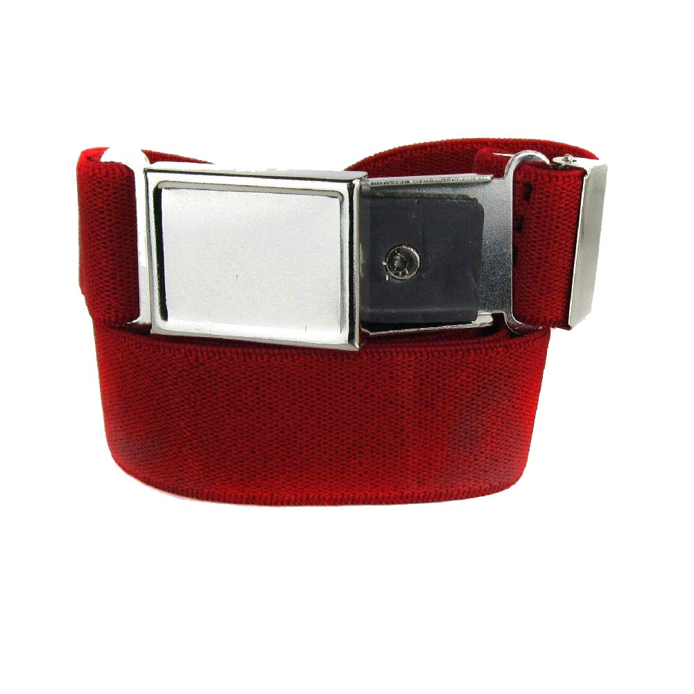 B-BLT-3-RED - Red - Boys Belt - Made in U.S.A.