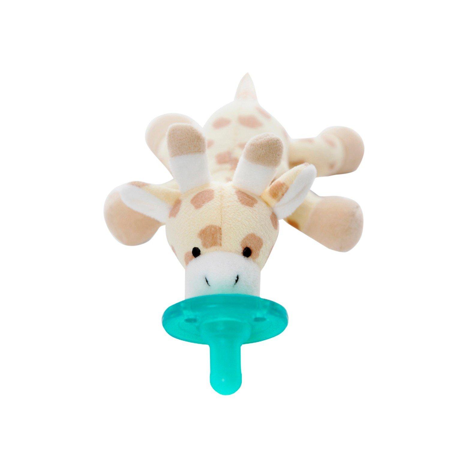 WubbaNub Giraffe Pacifier - Brown by WubbaNub