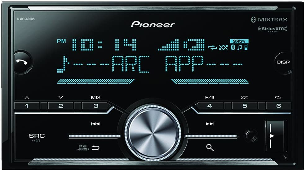 Pioneer MVH-S600BS Double Din Digital Media Receiver