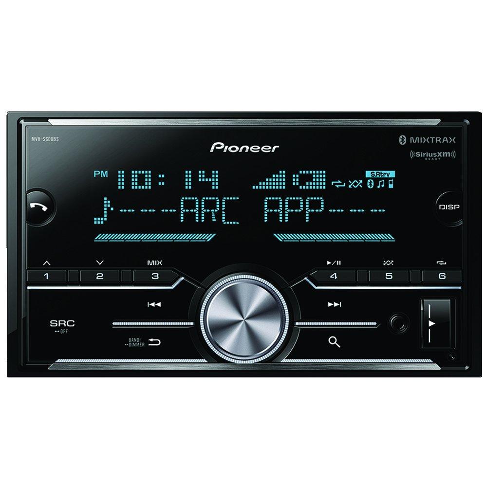 Pioneer MVH-S600BS Double-Din Digital Media Receiver}