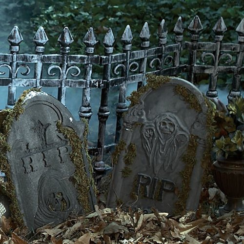 Forum Novelties Inc Cemetery Fence Multicoloured One (2 Piece Vampire Costumes)