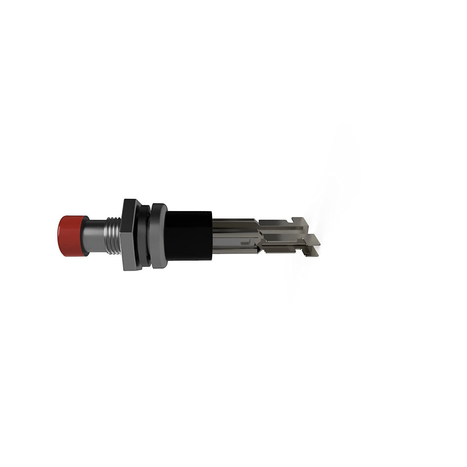 Push Button Micro Switch Red Mini 7mm Momentary 0.5A @ 120VAC NC ON-Off Normally Closed Solder-Free 10 Pack ON-Off 3A @ 12VDC Rated 20 Quick Connect Terminals Included