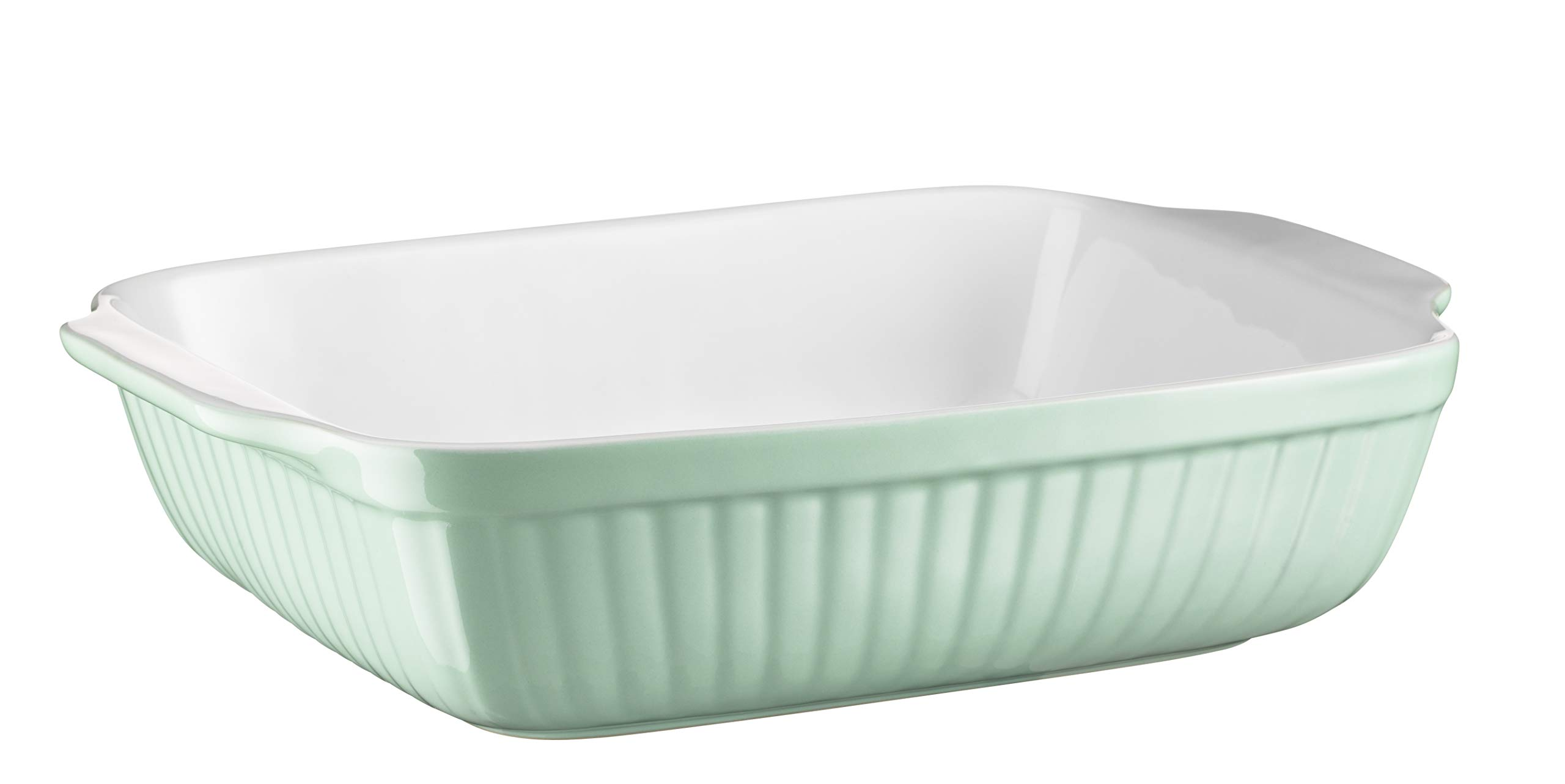 Mäser Kitchen Time 931486 Rectangular Baking Dish for Lasagne, Baking and Tiramisu Mould, Scratch and Cut-Resistant Square Oven Dish Ceramic by Mäser (Image #7)