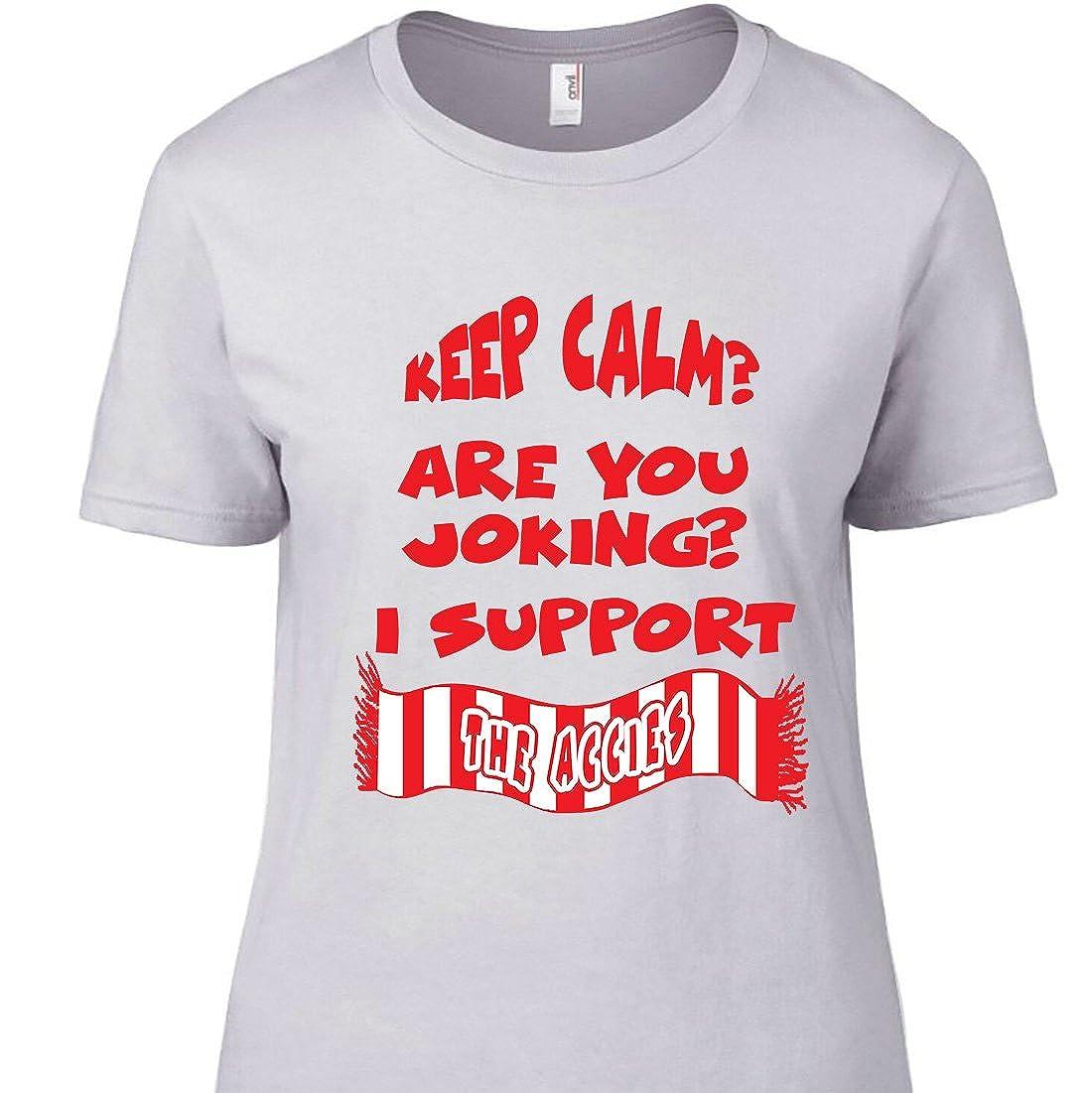 Hartlepool Keep Calm Football T-Shirt
