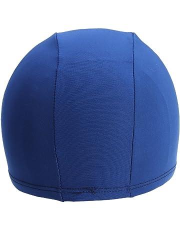 f257664e41fb Clispeed Cuffia da Nuoto per Uomo Donna, Morbido Tessuto Cuffia da Bagno  Unisex Comodo Cappello