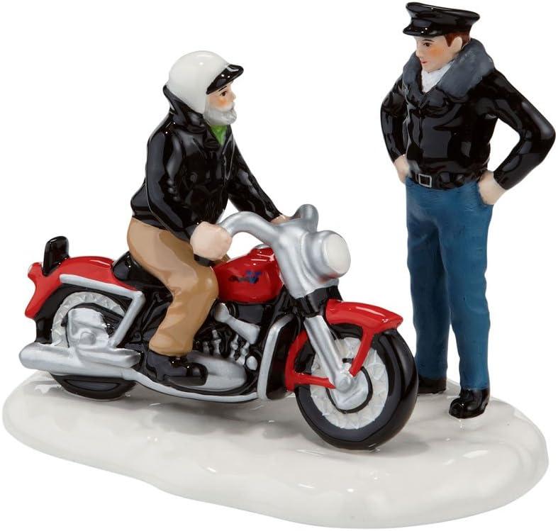 Department 56 Halloween Village Harley Davidsons Garage 4051011 New