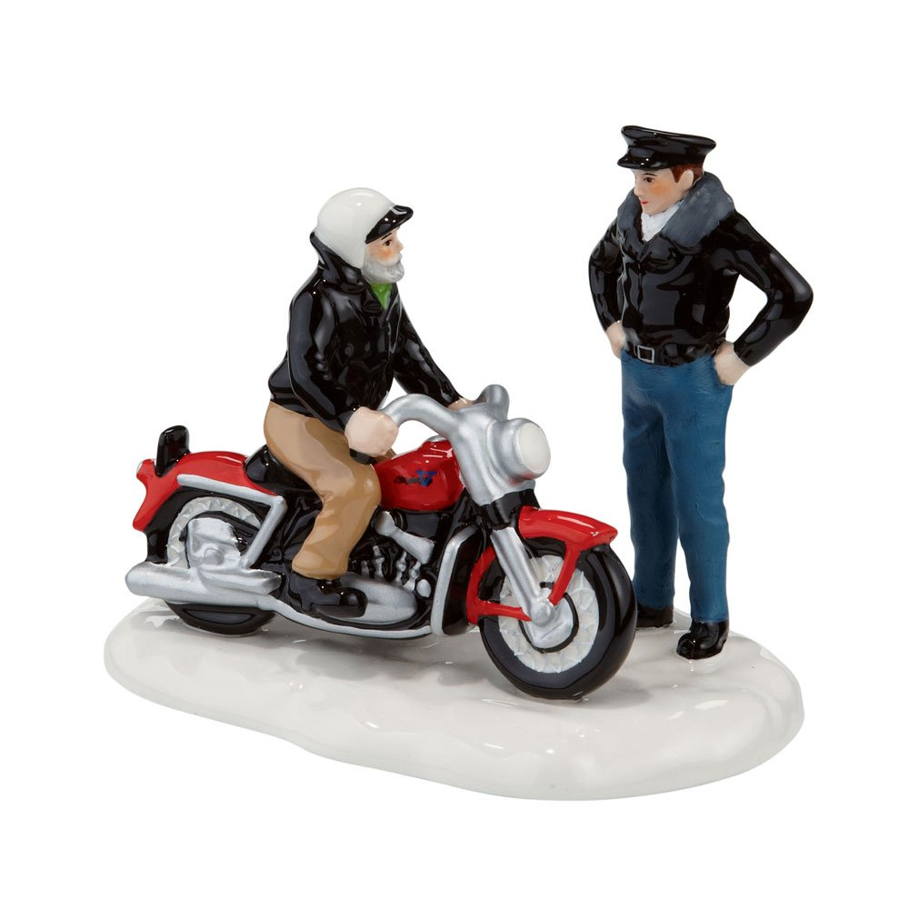 Department 56 Snow Village A New 1956 Harley-Davidson Accessory Figurine
