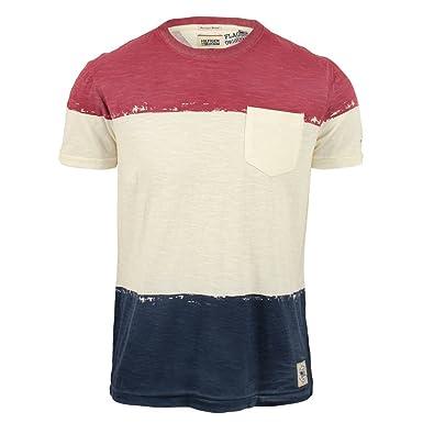 6e52aec4 Tommy Hilfiger Mens Vintage Flag T-Shirt Cream X-Large: Amazon.co.uk:  Clothing