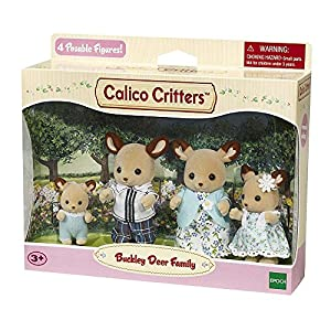 Calico Critters Buckley Deer Family