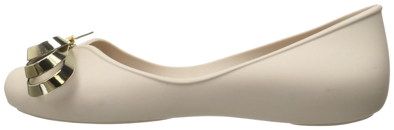 Zaxy Women's Luxury Ballet Flat B01M19ZC5E 6 B(M) US|Beige