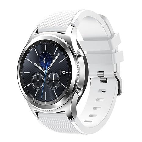 Gear S3 Frontier/Classic Watch correa,SUMIN® Suave reemplazo ...