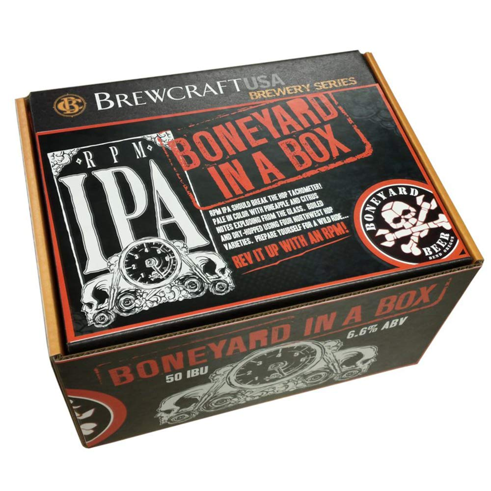 BrewCraft Brewery Series Recipe Pack: Boneyard RPM IPA