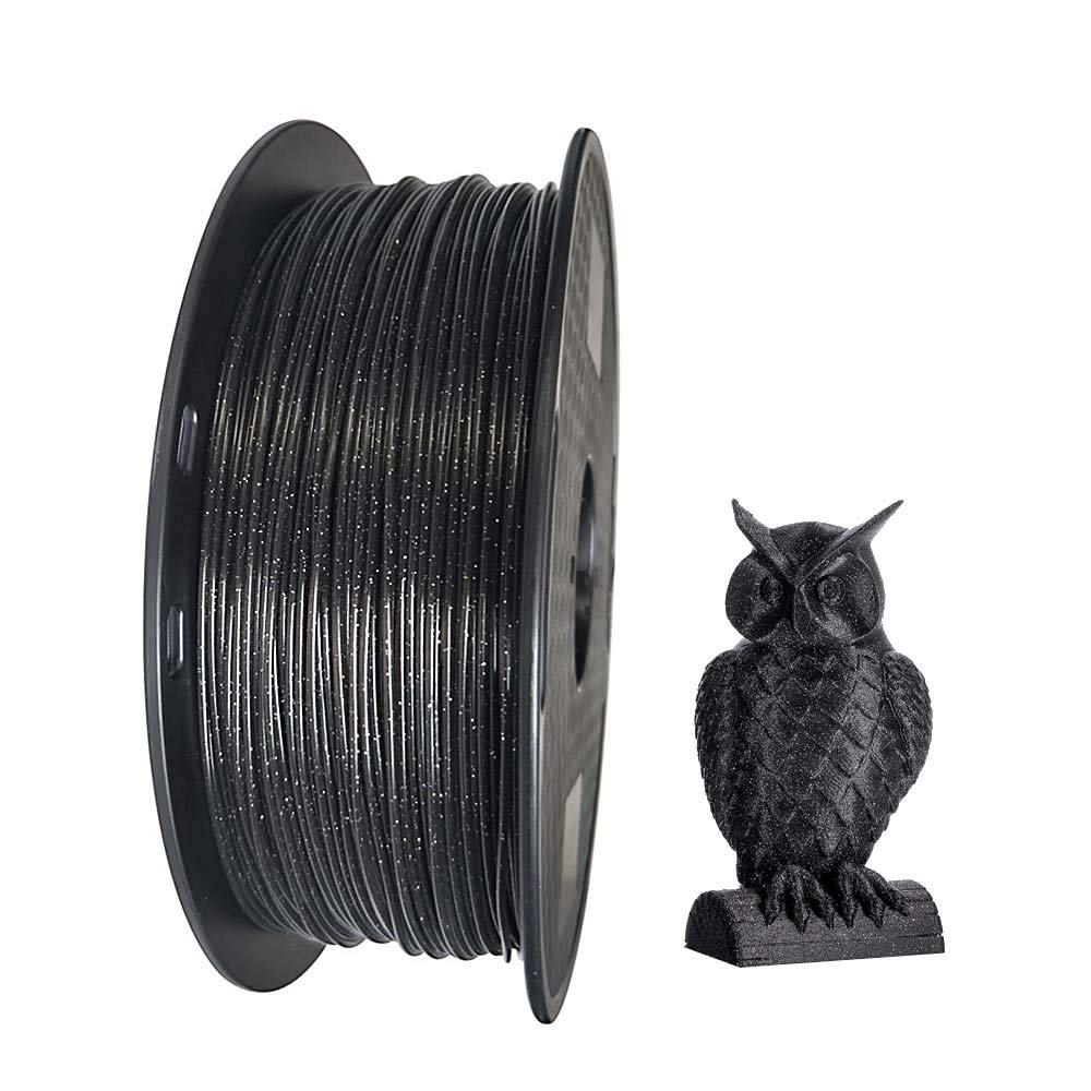 Crystal PLA - Impresora 3D brillante de 1,75 mm de filamento PLA 1 ...