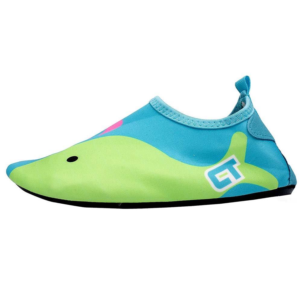 BIZAR Kids Quick-Dry Water Shoes Sports Skin Aqua Socks Shoes for Swim Beach Pool Surfing