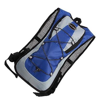 Sharplace 5L Bolsa Mochila de Agua Hidratación para Bicicleta Mtb Excursión Azul