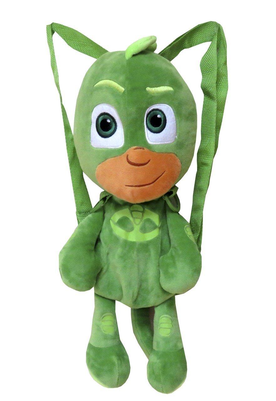 C Y P Peluche Mochila PJ Masks 3D 40, Color Verde (CYP 103MCPJ)