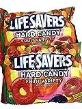 fruit life savers - LifeSavers Hard Candy Fruit Variety - 13 oz. bag (10-Flavors May Vary) ( Pack of 2 )