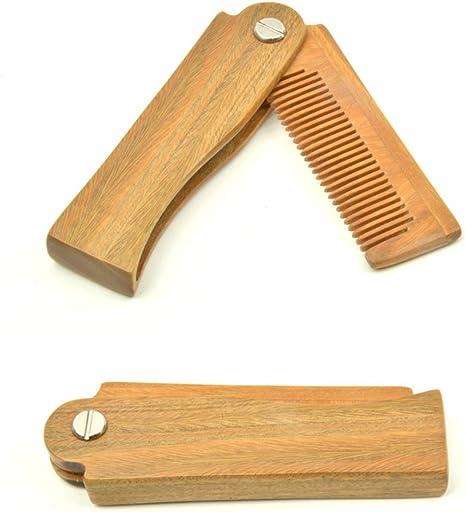 Peine de madera de sándalo peine antiestático peine de madera ...