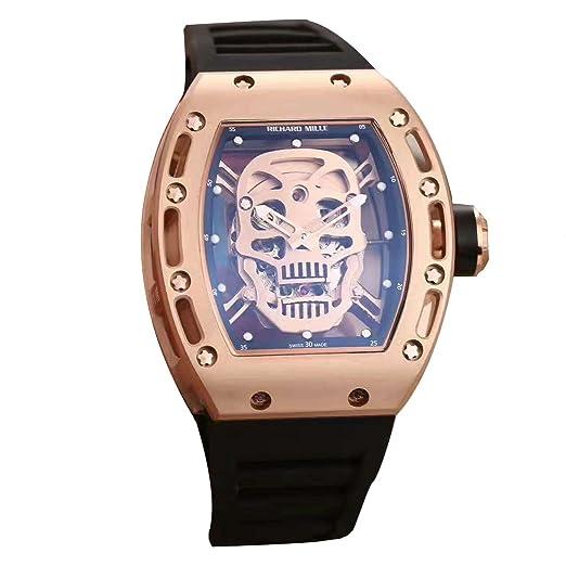 Richard Mille autorizar Swiss reloj automático hombre: Amazon.es: Relojes