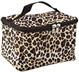 Leopard Theme Cosmetic Makeup Case, Bags Central