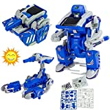 3in1 Solar Energy Transforme Educational DIY Robot Tank Scorpion Modle Kit Toy Educational Toys