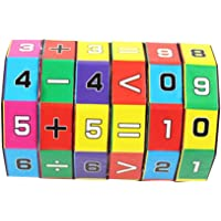 1 Piece Kids Mathematics Numbers Magic Cube Learning Toy Puzzle Game Intelligence Arithmetic Math Toy