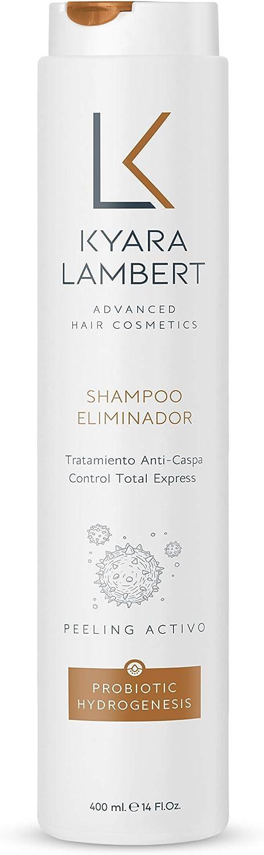 Kyara Lambert - Shampoo Eliminador Anticaspa con Piroctone Olamine y Zinc Piritione, 400ml | Champú Anticaspa Peeling Activo