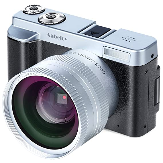 Videocámara con Cámara Digital FHD 1080p 24.0MP 30FPS WiFi Videocámara con Lente Gran Angular, 3.0