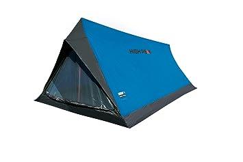 High Peak Minilite Tienda, Azul/Gris, 200 x 120/100 x 90/60 cm: Amazon.es: Deportes y aire libre