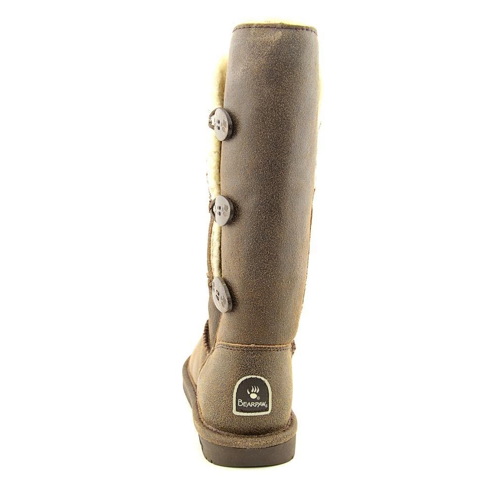 BEARPAW Women's Lauren Boot (7 B(M) US, Chestnut Distressed) by Bearpaw (Image #4)