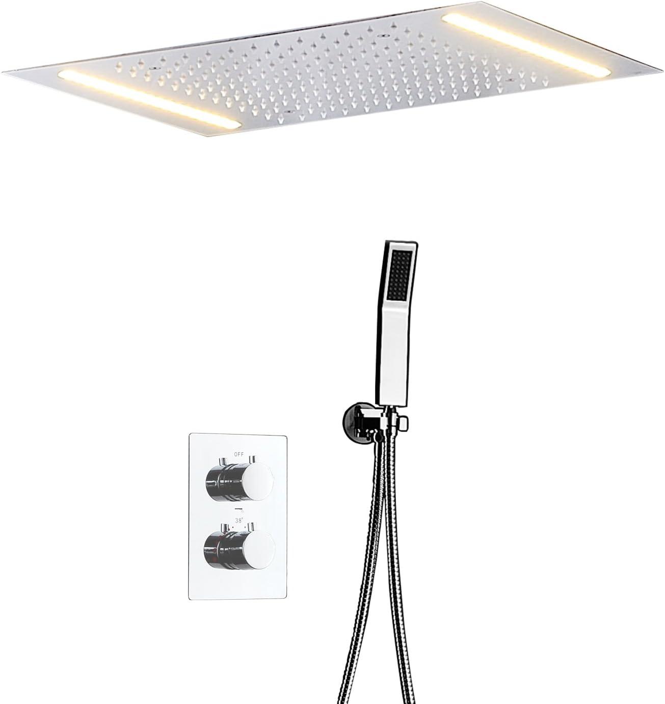 Conjunto De Ducha De Techo LED Conjunto De Ducha De Baño ...