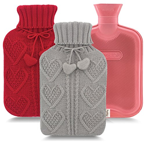 hot water bottle knit cover - 6