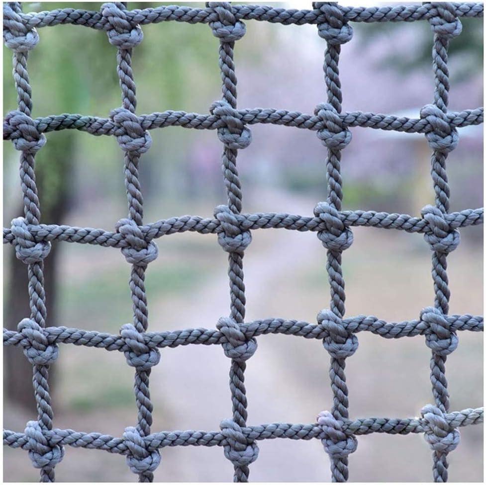子供保護クライミングネット幼稚園屋外保護ネット、多機能屋外安全ネット遊園地ロープネット、階段バルコニーナイロン落下防止ネット(18mm / 20cm) (Color : 18mm/20cm, Size : 1*1m/3.3*3.3ft) 18mm/20cm 1*1m/3.3*3.3ft