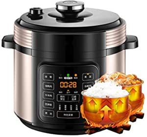 5L Electric Pressure Cooker, Rice Cooker, Slow Cooker, Egg Cooker, Warmer and More with Deluxe Accessory Set