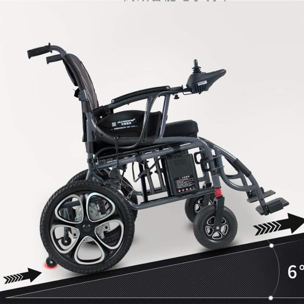 Amazon.com: AA100 Folding Portable Electric Wheelchair, Foldable ...
