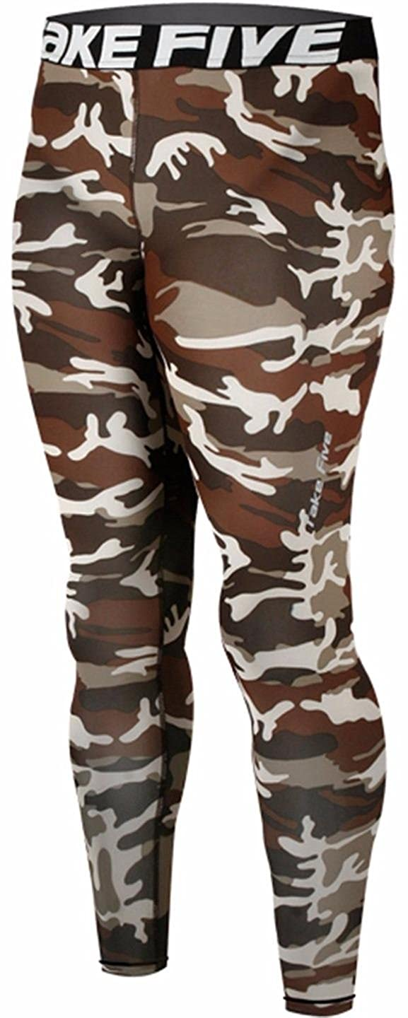 New 120 Skin Tights Compression Leggings Base Layer Camo Running Pants Mens JustOneStyle